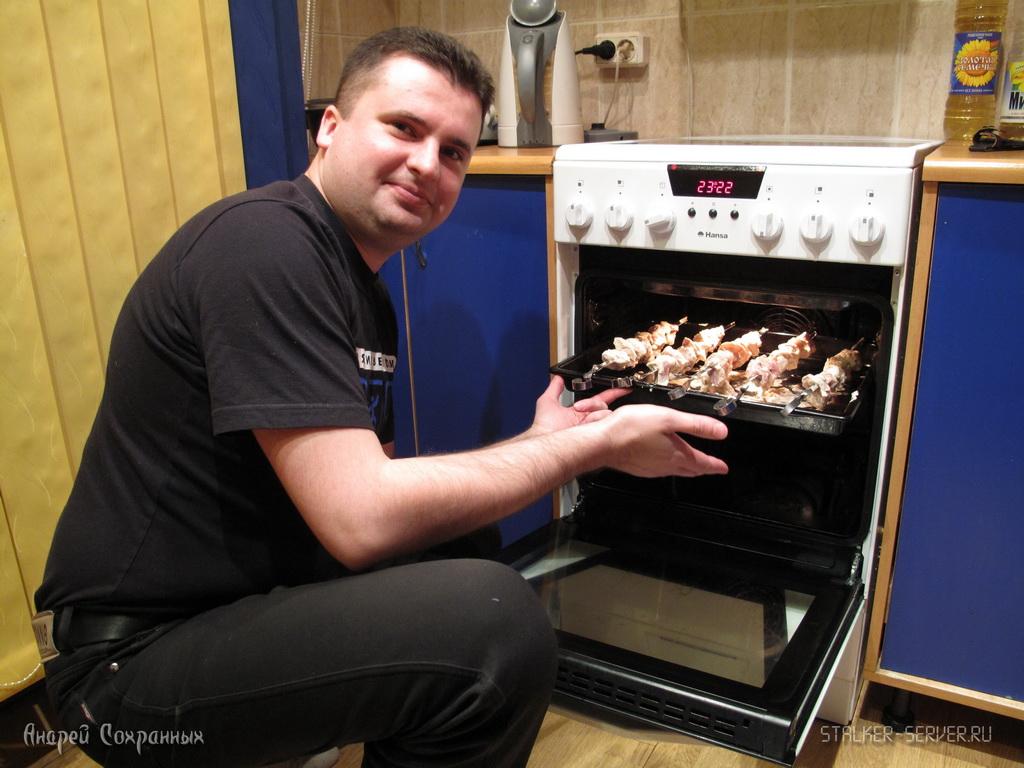 Как сделать домашние шашлыки в духовке